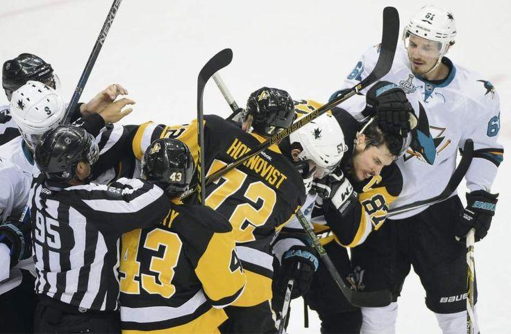 June 9, 2016 — Stanley Cup Final: Sharks 4, Penguins 2 (Photo: Philip G. Pavelyl     Tribune-Review)