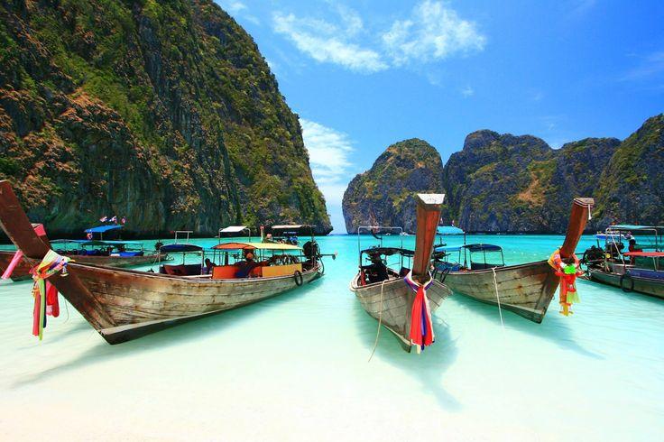 Isla Phi Phi, Tailandia.