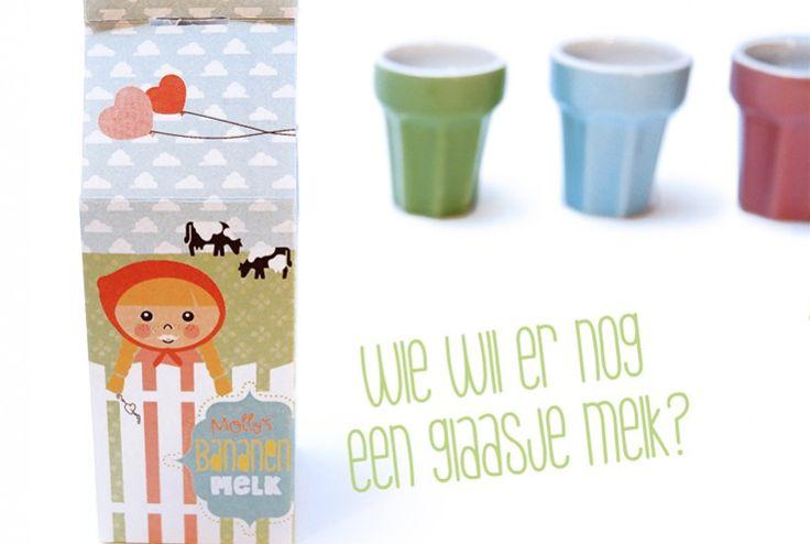 Winkeltje of keukentje spelen met pakje melk van 'de Ontwerpwinkel' | © Papiergoed