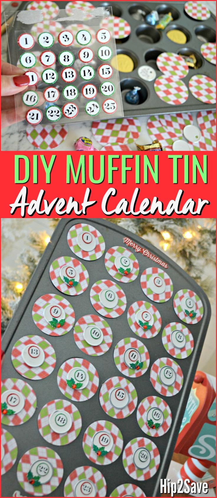 Diy Advent Calendar Muffin Tin : Unique days until christmas ideas on pinterest