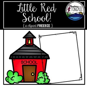 This clipart set features a classic little red school house and a black/white school border! I hope you enjoy this little free clipart set!Please read my Terms of Use prior to purchasing.Click here for more Back to School resources!