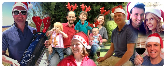 Our winemakers getting in to the Christmas spirit!