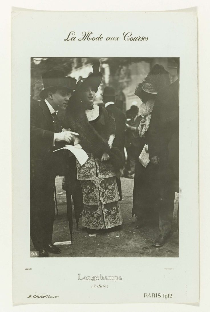 La Mode aux Courses, frères Seeberger, A. Calavas, 1912
