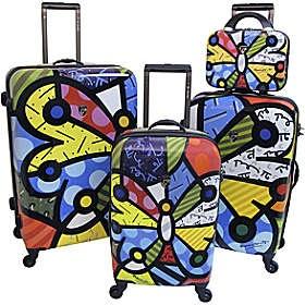 Suitcases by Romero Brito