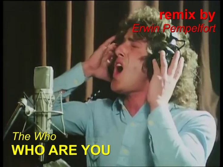 Thw Who - WHO ARE YOU ( remix )
