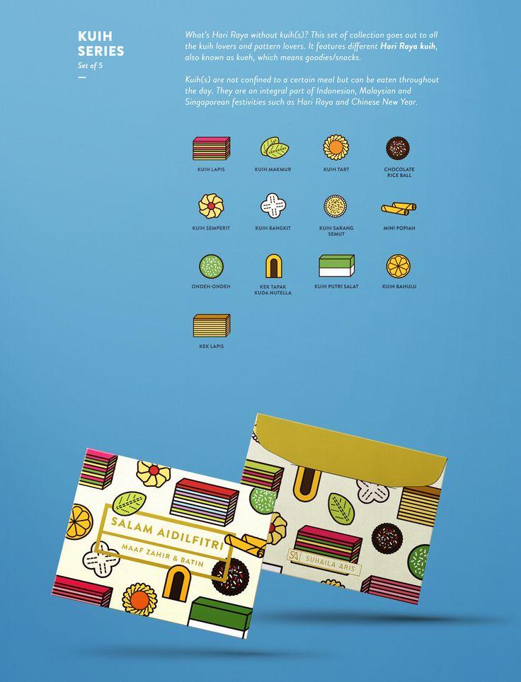 Hari Raya Aidilfitri u2014 Money Packets Design
