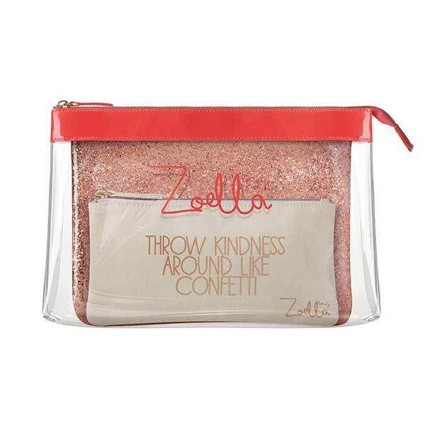 £18 Zoella We 3 Beauties Cosmetic Bag Trio
