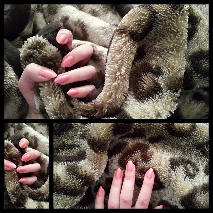 #Róż, blady róż, paznokciowe stylizacja, #kocyk, miękko, różowe paznokcie, nails, natural nails,#rozowy