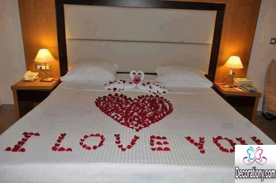 I love you bed decorating ideas 35 romantic home for Decor to adore
