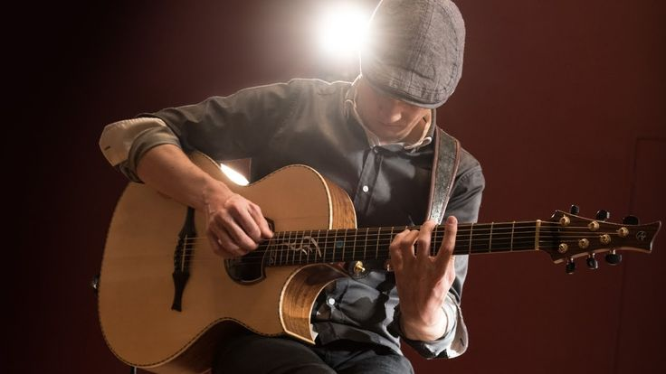 Acoustic guitar virtuoso Petteri Sariola plays his song San Francisco Drive on the Hughes & Kettner era 1 acoustic amplifier using his signature Cuntz acoustic guitar.
