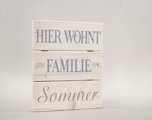 Best T r u Namensschilder T rschild T rschild Familienname Schild Familie ein Designerst ck von