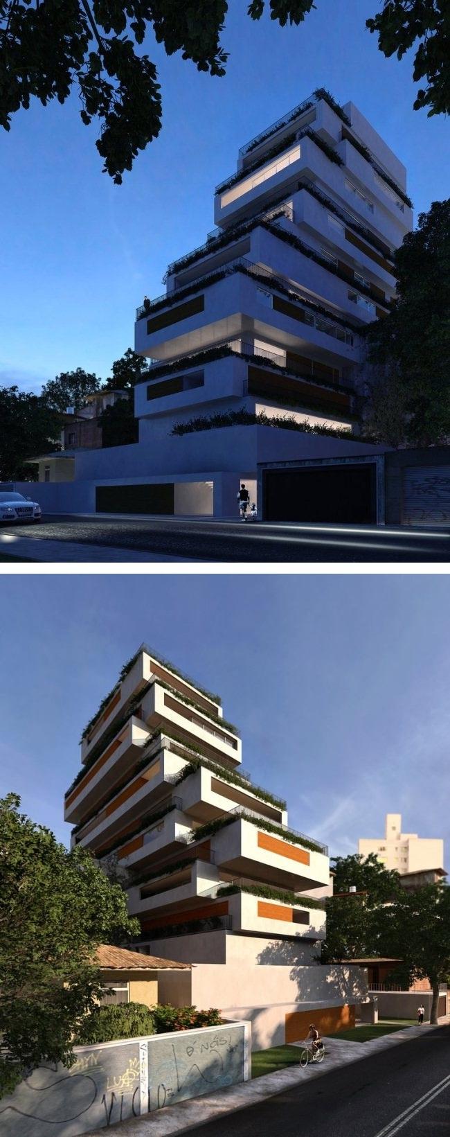 Edifício Oka, rua Girassol, Vila Madalena - Arquiteto: Isay Weinfeld