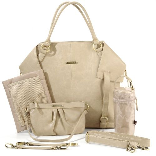 Timi and Leslie Charlie Tote Diaper Bag - Light Brown - Diaper Bags at Hayneedle