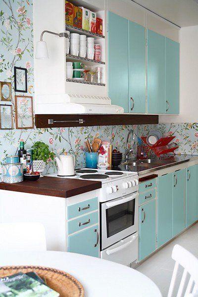 Ντύσε τους τοίχους του σπιτιού με τις πιο floral ταπετσαρίες! -JoyTV