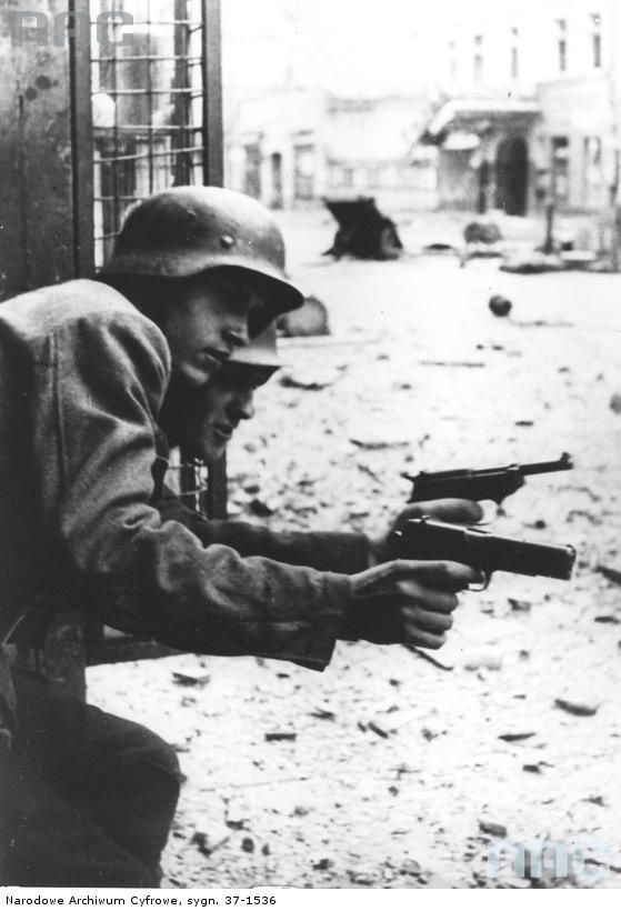 """We always thought the German army was the best and their equipment was the best and we wanted their pistols and sub machine guns. We used to play """"Germans"""" which is the same as playing """"Guns"""" or """"War"""" in North America. We'd take hostages and make up strategies on how to win, all outdoors in between buildings and on the streets. That was the funnest with so many kids involved!"""