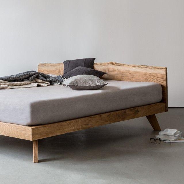 NUTSANDWOODS Oak Bed (verschiedene Größen) | selekkt.com