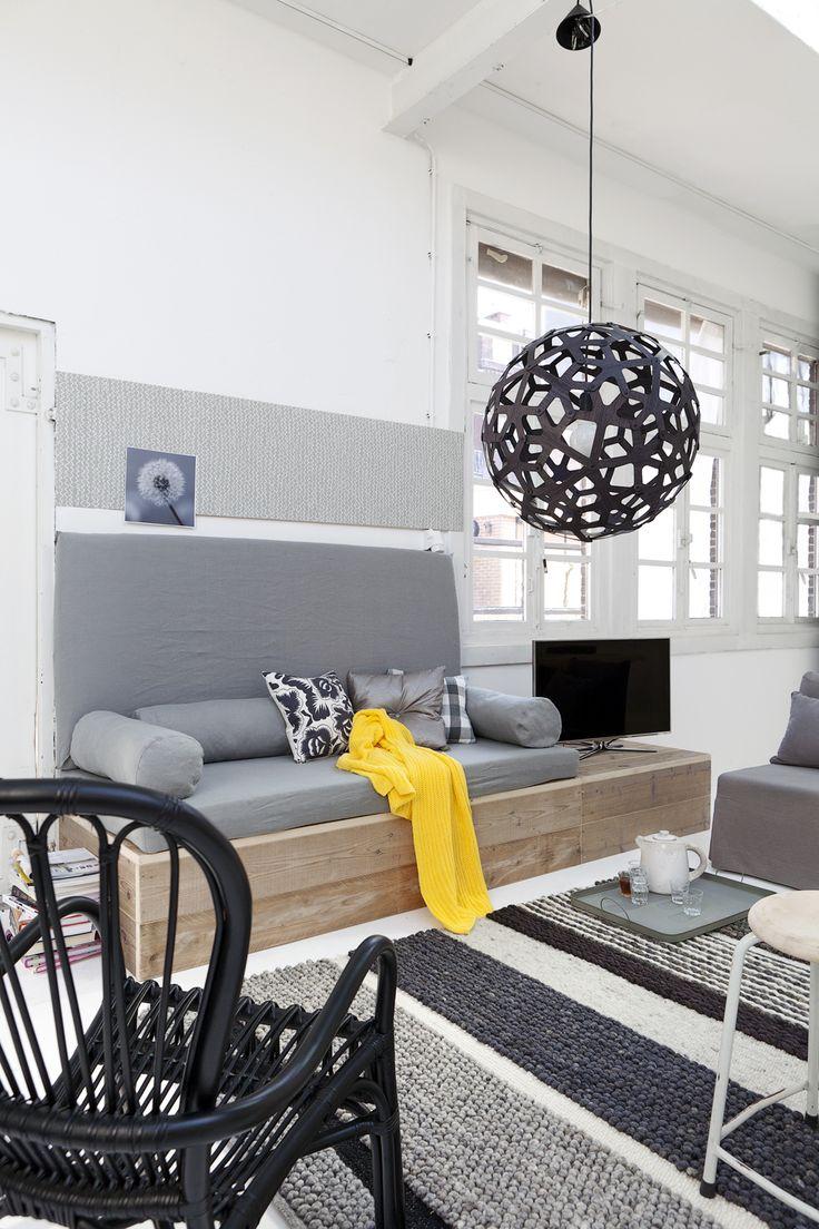 Inspiratie voor de woonkamer!  Stuff For the Home  Pinterest