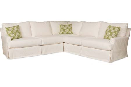 Lee Industries C3972-Series Slipcovered Sectional Series