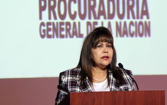 La Procuradora General (e), Martha Isabel Castañeda. FOTO Archivo Colprensa