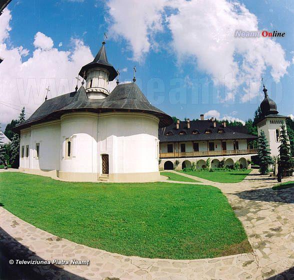 Biserica mănăstirii Sihăstria