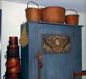 Looks nice on the blue cupboard ---Anne Nichols