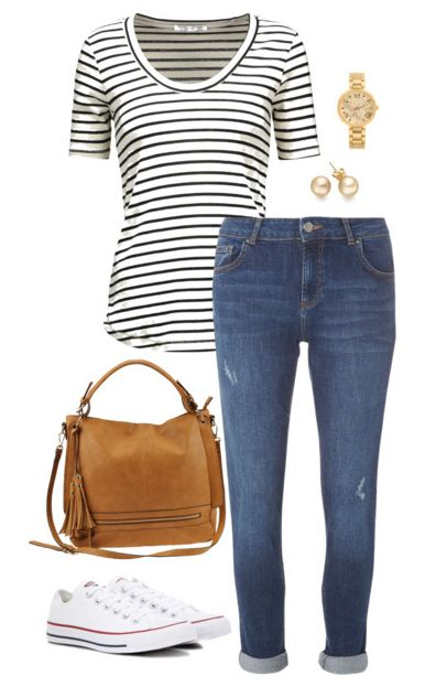 25+ best ideas about Striped shirt outfits on Pinterest ...