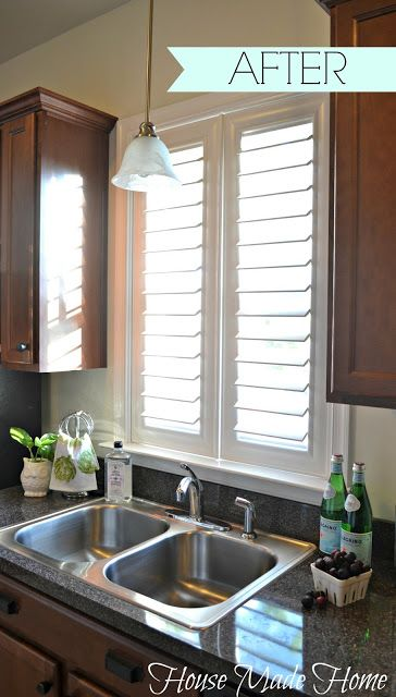 The Gorgeous Bali EuroVue Shutters from Blinds.com via House Made Home