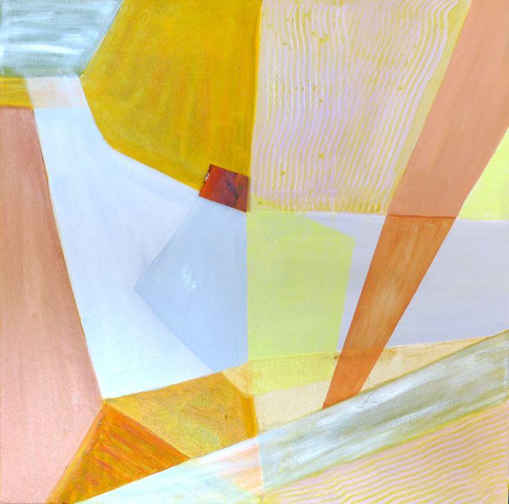 """Angles of Colour"", Oil glazes, 18"" x 24"", $200.00"