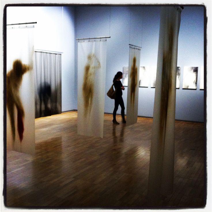 Oscar Munoz Exhibition, Jeu de Paume Museum, Paris