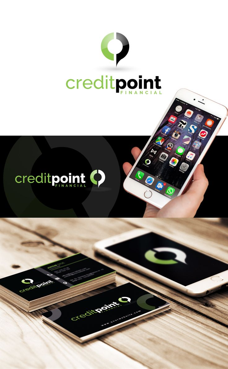 point logo - creative logo - business logo - corporate logo