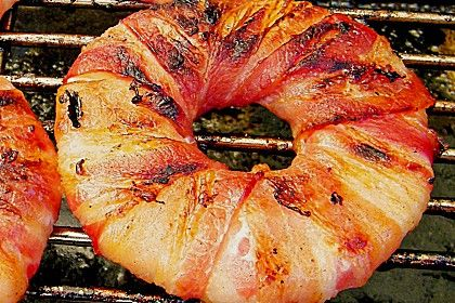Ananas-Speck-Ringe zum Grillen