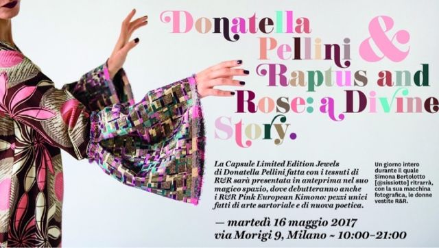 fourfancy Magazine: Raptus and Rose meets Donatella Pellini