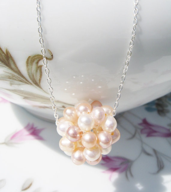 Pearl Necklace Cluster