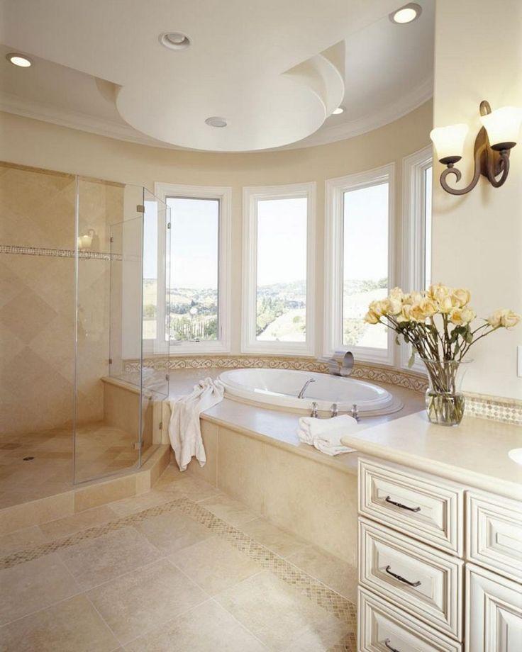 1000 id es sur le th me carrelage travertin sur pinterest travertin carrelage et salle de bains - Carrelage salle de bain romantique ...