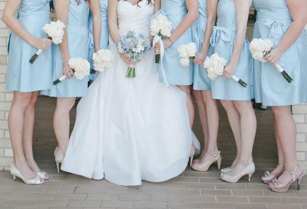 Clic Ballroom Wedding By Caroline Joy Baby Blue Weddings And Gold