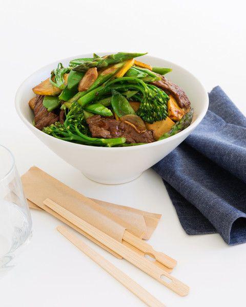 Hoisin Beef Stir-Fry with Spring Vegetables