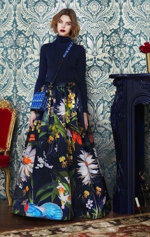 The Genteel | William Morris Inspires at New York Fashion Week