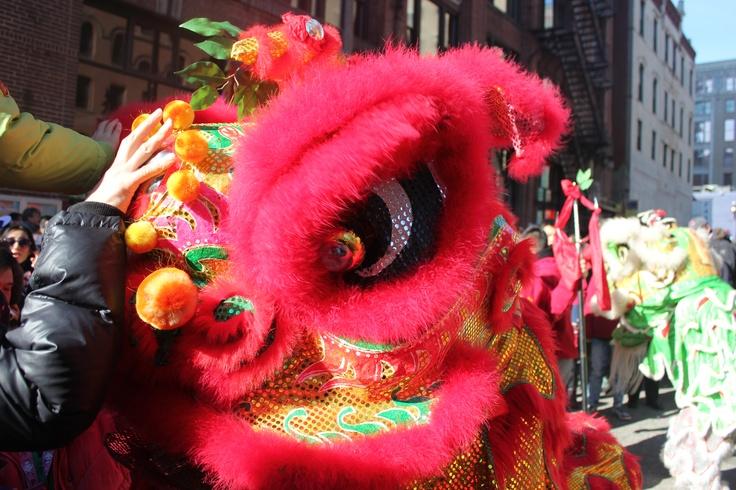 New Years China Town Boston
