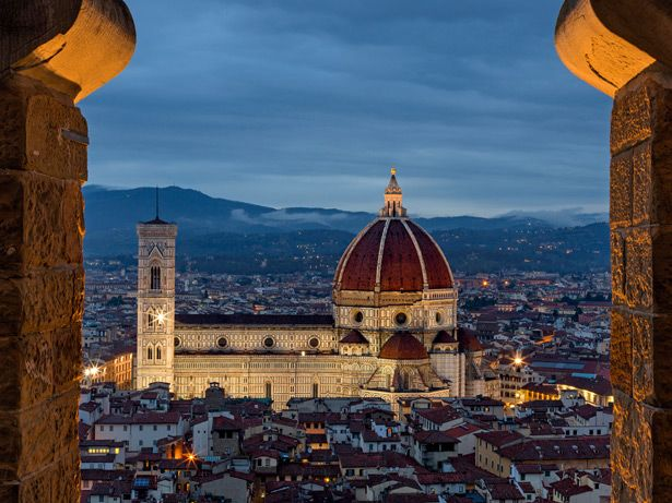 see the Duomo in Florence!