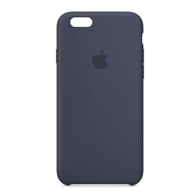Apple iPhone 6s silicone case middernachtblauw  SHOP ONLINE: http://www.purelifestyle.be/shop/view/technology/iphone-beschermhoezen/apple-iphone-6s-silicone-case-middernachtblauw