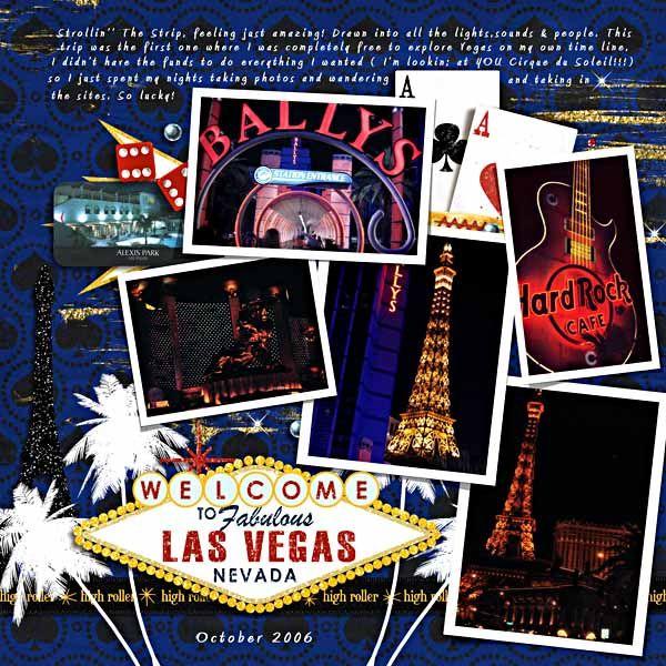 Welcome to Vegas - Digishoptalk - The Hub of the Digital Scrapbooking Community