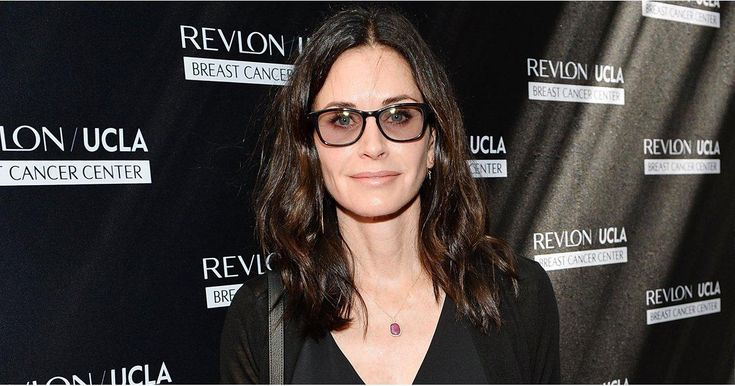 "Courteney Cox Says Brad and Angelina's Divorce Is ""Not About"" Jennifer Aniston"
