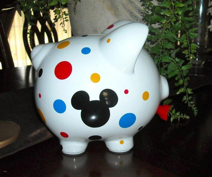 Personalized Medium Piggy Bank by dancenat on Etsy, $18.00