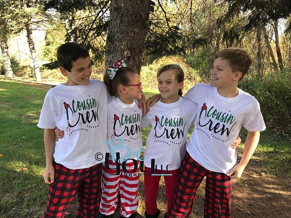 405dddf0ca christmas pajamas  pajamas for family  family matching  Cousin  cousin  shirts  cousin crew  COUSINS make the BEST FRIENDS
