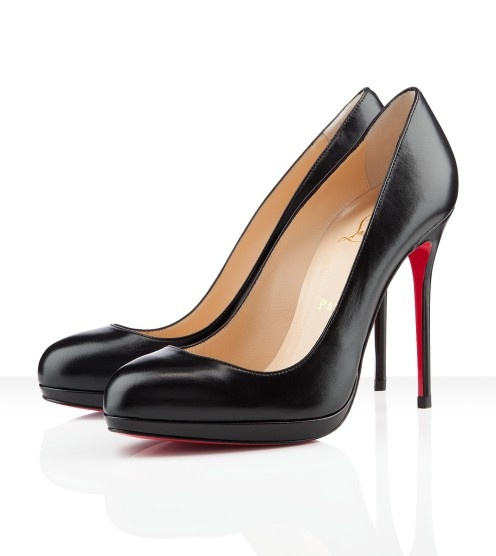 Filo 120mm: 120Mm Pumps, Leather Pumps, Christian Louboutin, Louboutin Shoe, Pumps Black, Red Bottom, Christianlouboutin, Filo 120Mm