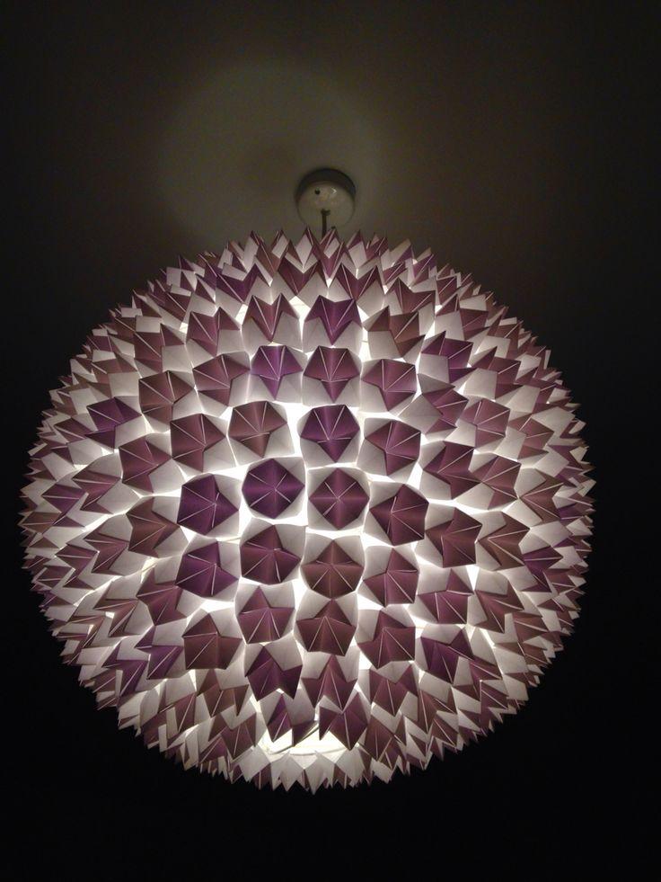 Diy paper lamp Fortuneteller globelamp