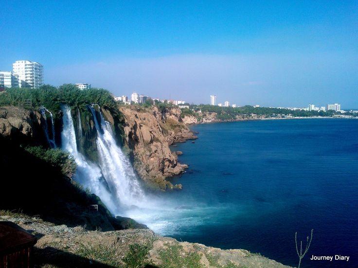 Waterfall in Antalya