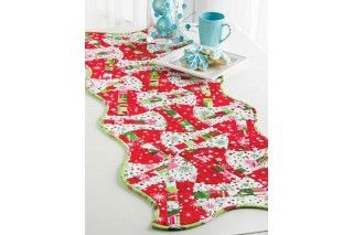 GO! Christmas Candy Apples Table Runner