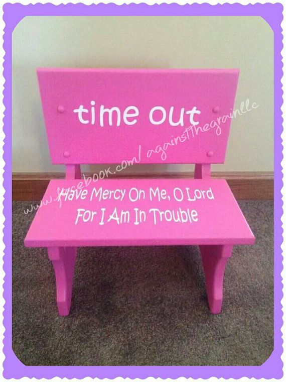 25 Best Ideas About Time Out Chair On Pinterest Time Out Stool Time Out And Girls Chair