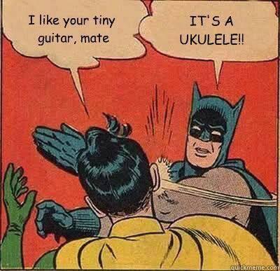 ukulele humor:P I love this!